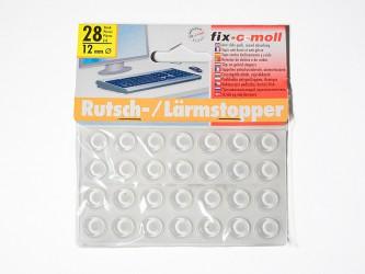 Пункты противоударные Fix-o-moll, круглые, индивидуальная упаковка, прозрачные. Арт. 18, 19