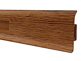 Плинтус ПВХ НП47 с мягкими краями и кабель-каналом 47 мм х 22 мм х 2,5 м. Арт. НП47