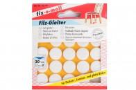 Пункты защитные фетровые  Fix-o-moll, d-17 мм, индивидуальная упаковка 20 шт. Арт. 75...-