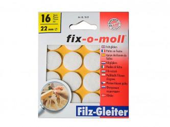 Пункты защитные фетровые  Fix-o-moll, d - 22 мм, индивидуальная упаковка 16 шт , Арт. 76 -…