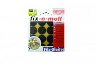 Пункты защитные фетровые  Fix-o-moll, d - 22 мм, индивидуальная упаковка 48 шт. Арт. 7648 -…
