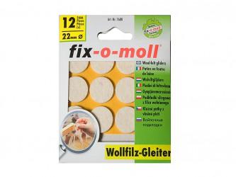 Пункты защитные войлочные  Fix-o-moll, d-Пункты защитные войлочные  Fix-o-moll, d - 22 мм, индивидуальная упаковка 12 шт. Арт. 7680