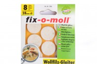 Пункты защитные войлочные  Fix-o-moll, d - 28 мм, индивидуальная упаковка 8 шт. Арт. 7780