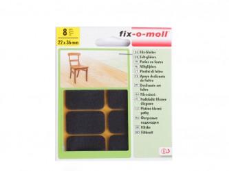 Пункты защитные фетровые  Fix-o-moll, 22 х 36 мм, индивидуальная упаковка 8 шт. Арт. 79