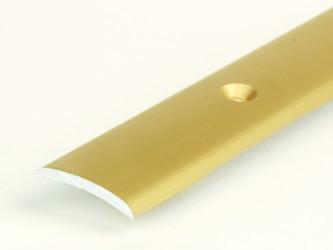 Порог стыкоперекрывающий анодированный, 20 мм, скрепежом. Инд.упаковка. Арт. А20