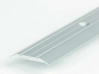 Порог стыкоперекрывающий анодированный, 25 мм, с крепежом. Инд.упаковка. Арт. А25