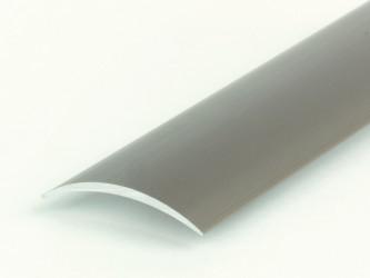 Порог стыкоперекрывающий анодированный, 30 мм, с крепежом. Инд.упаковка. Арт. А30