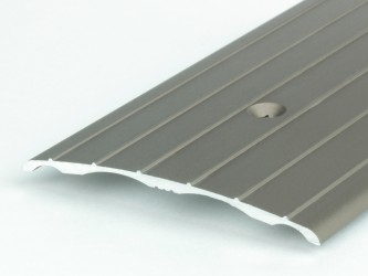 Порог стыкоперекрывающий анодированныей, 60 мм, с крепежом. Инд.упаковка. Арт. А60
