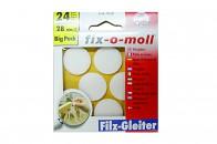 Пункты защитные фетровые  Fix-o-moll, d -28 мм, индивидуальная упаковка 24 шт. Арт. 7724 -…