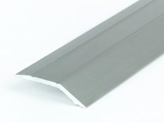 Порог анодированный с перепадом высот, 32 мм, перепад до 4,5 мм, с крепежом. Инд.упаковка. Арт. С32/4,5