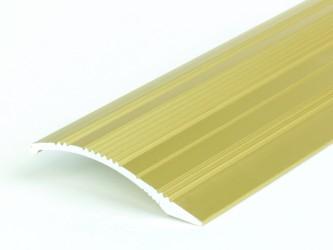 Порог анодированный с перепадом высот, 40 мм, перепад до 12 мм, с крепежом. Инд.упаковка. Арт. С40/12