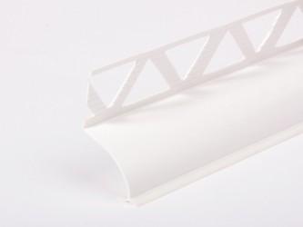 Бордюр для ванны ПВХ с мягким краем и перфорацией ,  32 мм х 28 мм х 1,8 м. Арт. CR 32/28 180