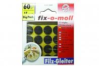 Пункты защитные фетровые  Fix-o-moll, d - 17 мм, индивидуальная упаковка 60 шт. Арт. 7560